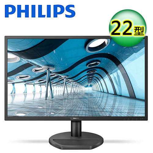 【Philips 飛利浦】22型 16:9 液晶顯示器 (221S8LDAB)