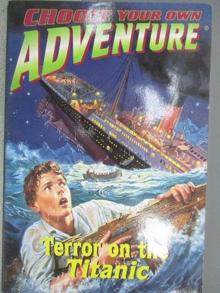 【書寶二手書T1/原文小說_MNP】Choose Your Own Adventure_Terror on the Titanic