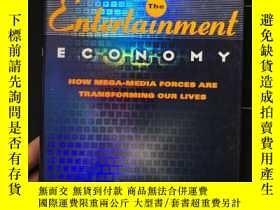 二手書博民逛書店娛樂經濟罕見Entertainment Economy: How