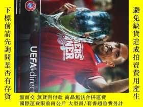 二手書博民逛書店UEFA罕見Direct 121 2012 09 足球歐足聯的官