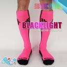 美國 BREEDWELL 百力威冷光性感襪 BLACKLIGHT ICON SOCKS NEON PINK 2021年最潮紐約品牌入侵台灣