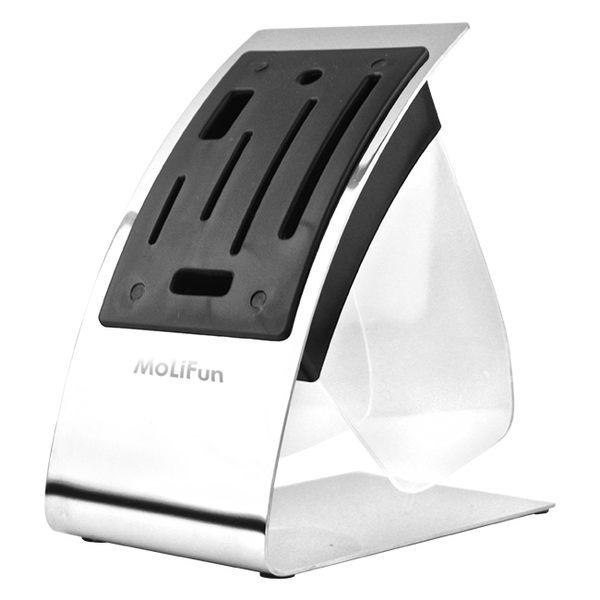 MoLiFun魔力坊 時尚素雅C型白鋼置刀架(MF0412)