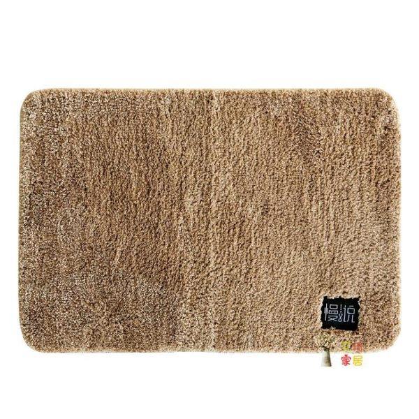 廚房地毯 浴室吸水地墊腳墊衛生間廁所進門防滑墊門墊臥室地毯家用墊子定制 6色