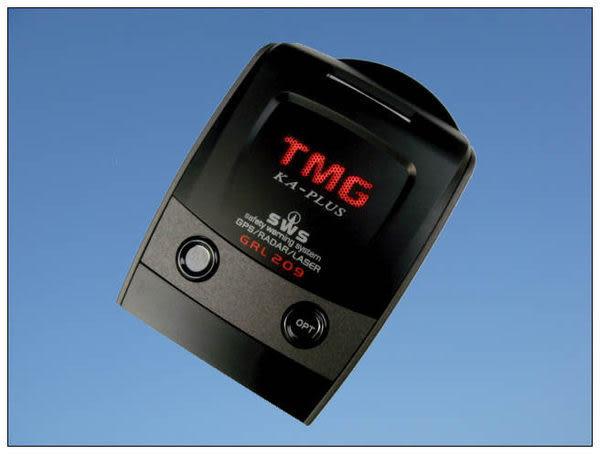 ☆鑫晨汽車百貨☆送三孔擴充座 新版 TMG 209 KA GPS 衛星定位 全頻測速器/三合一/免安裝