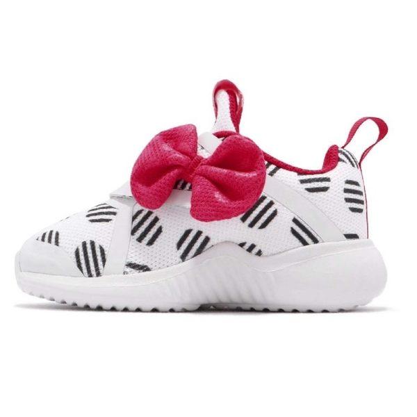 Adidas FortaRun 迪士尼聯名款米妮白色休閒鞋-NO.D96918
