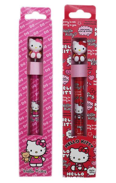 【卡漫城】 Hello Kitty 造型公仔 自動筆 2入 長度15.5cm ㊣版 凱蒂貓 文具 自動鉛筆 書寫 超好寫