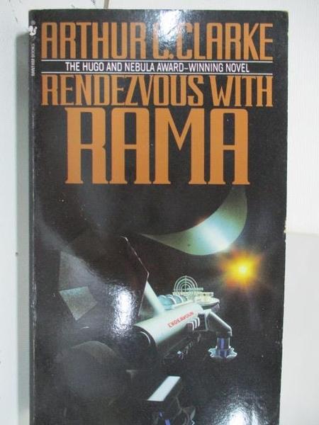 【書寶二手書T1/原文小說_ALP】Rendezvous with Rama
