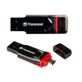 【3期零利率】全新 Transcend 創見 16G JetFlash 340/JF340 OTG 行動碟 手機平板 隨身碟