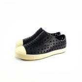 小童 Native JEFFERSON MARBLED 防水洞洞懶人休閒鞋《7+1童鞋》6045 黑色