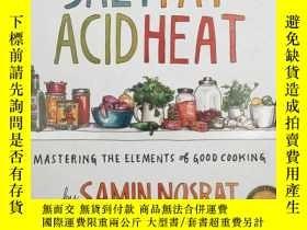 二手書博民逛書店Salt,罕見Fat, Acid, Heat: Masterin