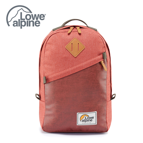 Lowe Alpine 五十週年 經典紀念款 Adventurer 20 多功能電腦都會包 辣醬橘 #FDP61