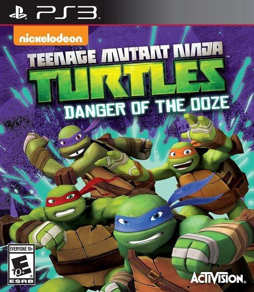 PS3 忍者龜:變種危機 -英文美版- Ninja Turtles: Danger of the OOZE