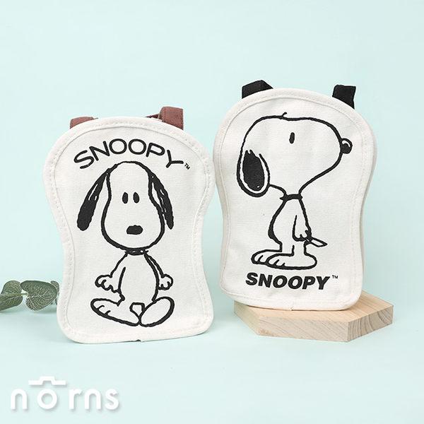 【Snoopy造型帆布飲料提袋】Norns 史努比正版 手提袋 飲料袋