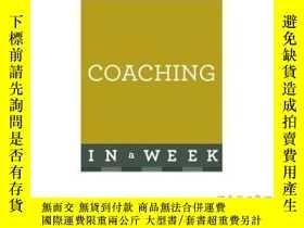二手書博民逛書店Successful罕見Coaching in a Week: Teach Yourself-一周成功輔導:自學奇