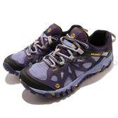 Merrell 戶外鞋 All Out Blaze Aero Sport 水陸運動鞋 越野 登山 黑 紫 透氣 休閒鞋 女鞋【PUMP306】 ML65036