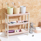 收納用品 多功能三層組合置物架(長條) 盥洗用具  碗盤架 居家 浴室 【ZRV083】收納女王