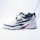 FILA 休閒鞋 跑鞋 經典配色 公司正品 1J329U133 男款 白藍【iSport愛運動】