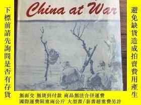 二手書博民逛書店【罕見在國內、全國包 、1-3天收到】Stories of China at War,《中國戰時小說》,Chi-