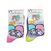 non-no儂儂褲襪《5入》日本製三麗鷗童襪(kiki&lala聊天時光)4262-426