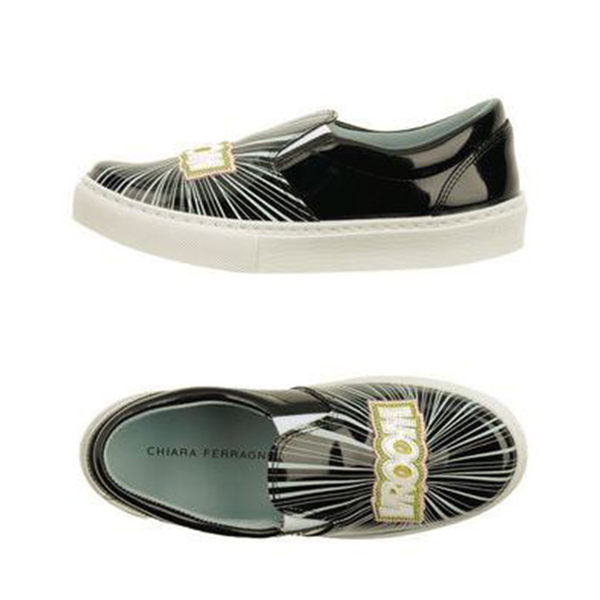 SUPERHERO厚底鞋-黑色