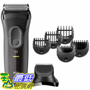 [106美國直購] 剃鬚刀 Braun Series 3 - 3000BT 3-in-1 Shaver A1138632  _tf01