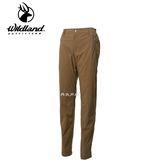 丹大戶外用品 荒野【Wildland】女彈性防潑防風天鵝絨長褲 型號 0A62323-63 深卡其