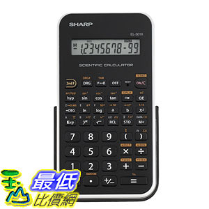 [美國直購 Shop USA] Sharp Electronics EL-501XBWH Engineering/Scientific Calculator $598