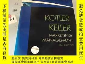 二手書博民逛書店英文原版:Marketing罕見Management:Inter