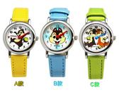 【卡漫城】 奇奇蒂蒂 皮革 手錶 剩B款 ㊣版 卡通錶 Chip n Dale 兒童錶 女錶 松鼠花栗鼠 皮革錶