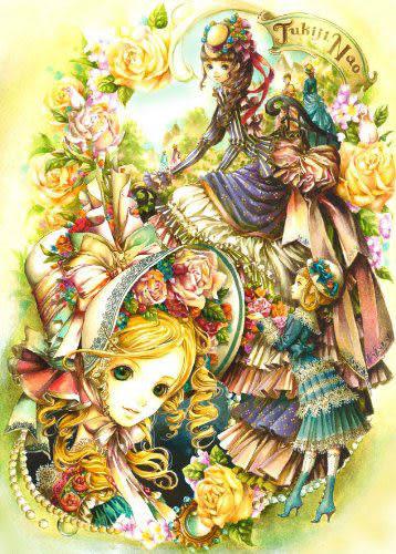 【拼圖總動員 PUZZLE STORY】露西亞的花園(作者:尚月地 ) 日本進口拼圖/AppleOne/繪畫/500P