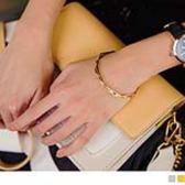 《ZC1580》鋸齒角度交錯設計手環 OrangeBear