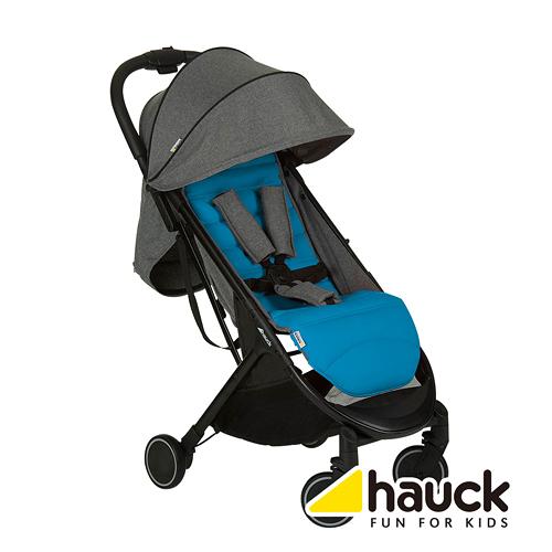 德國hauck Swift 輕量秒收可登機嬰幼兒手推車 波斯藍 麗翔親子館