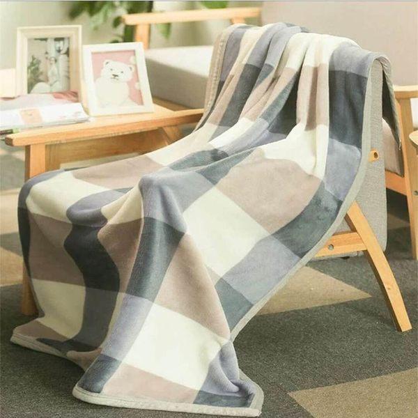 辦公室午睡毯單人小毛毯女蓋腿毯子男薄款空調毯珊瑚絨便攜夏季用 LX 潮人女鞋