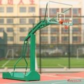 戶外籃球架 籃球架成人戶外可行動室外比賽標準籃球框學校廣場落地式家用室外T 1色