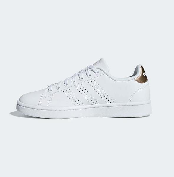 Adidas ADVANTAGE 女款白色運動休閒鞋-NO.F36223