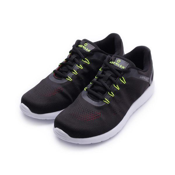 AIRWALK 活力追夢針織運動鞋 黑 A751255520 男鞋 鞋全家福