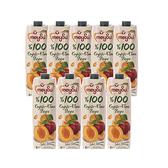 (組)土耳其meysu 100%杏桃蘋果汁1L 9入組