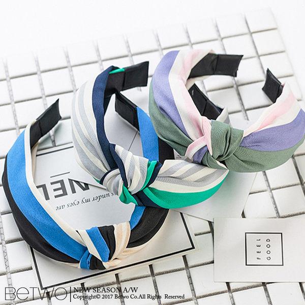 彼兔 betwo.髮箍 QLD*多款滿版圖紋布藝打結造型寬版髮箍【1047-AL98】06060157現貨