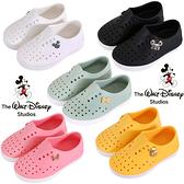 迪士尼 米老鼠米奇米妮小熊維尼 120270 台灣製兒童防水鞋 洞洞鞋 水陸鞋 雨鞋 懶人鞋 59鞋廊