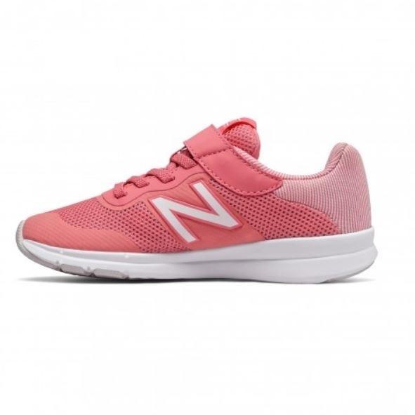 New Balance 兒童7-14歲 粉紅休閒運動鞋-NO.YOPREMPK