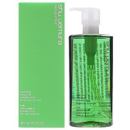 ☆薇維香水美妝☆SHU UEMURA 植村秀 植物精萃潔顏油 極濃綠茶 卸妝油 450ML