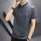 【型男精選任搭2件$699】純棉短袖POLO衫設計款精緻男款POLO衫