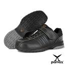 PAMAX 帕瑪斯【休閒型安全鞋】超彈力氣墊止滑安全鞋、後腳跟反光設計-PS8910FEH-男尺寸6-12