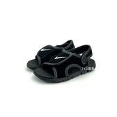 小童NIKE SUNRAY ADJUST 4 (TD) 輕量運動涼鞋寶寶涼鞋  《7+1童鞋》 E891 黑色