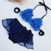韓國兒童溫泉寶寶嬰幼小大小裙式比基尼女孩子裙式分體可愛游泳衣    9號潮人館