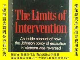 二手書博民逛書店The罕見Limits of Intervention: An