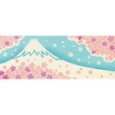 【日本製】【和布華】 日本製 注染拭手巾 滿開櫻花與富士山圖案 SD-5033 - 和布華