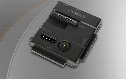 MB981U3N-1SA 2.5吋 + 3.5吋 IDE+SATA USB3.0 外接硬碟轉接器