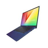 華碩 VivoBook X412FA-0208B10210U (孔雀藍) 14吋窄框多工SSD筆電【Intel Core i5-10210U / 4GB / 512G M.2 / W10】