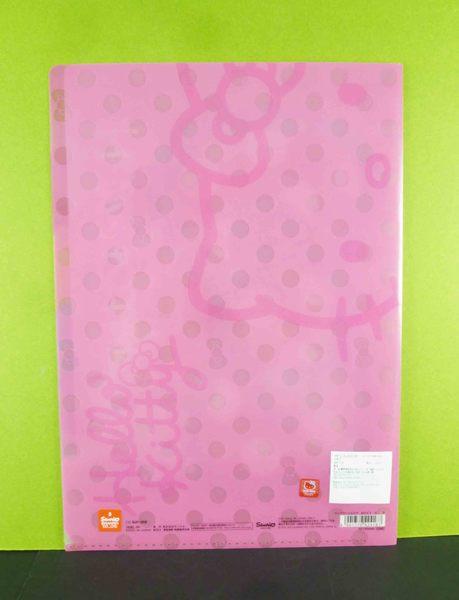 【震撼精品百貨】Hello Kitty 凱蒂貓~5格資料夾~大蝴蝶結圖案/粉色